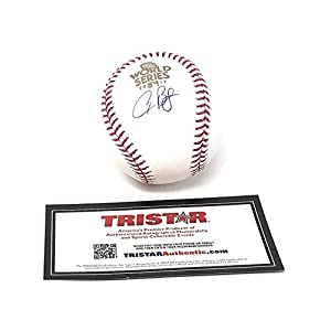 Alex Bregman Houston Astros Signed Autograph Official MLB World Series Baseball Tristar Authentic Certified