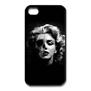 Marilyn Monroe For iPhone 4,4S Cases Cover Cell Phone Case STR656048