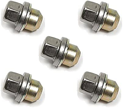 Amazon Com Land Rover Discovery 2 Set Of 5 Wheel Nuts With Washer Anr3679 Automotive