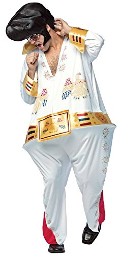 Rasta Imposta The King Hoopster Jumpsuit Costme White