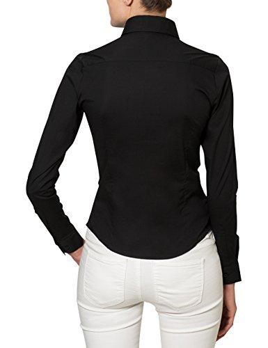 Casual Business Berydale Schwarz ottimale alla e Camicetta elastan di vestibilità percentuale grazie Nero BwwCxHq5