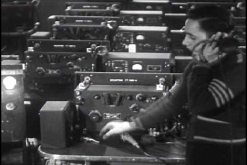 Vintage WWII Radio Films DVD: Radio & Mass Communication in World War Two (from the World War WW2 Collection)