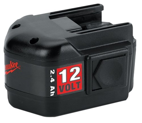 Milwaukee 48-11-1970 12-Volt 2.4 Amp Hour NiCad Slide Style Battery by Milwaukee