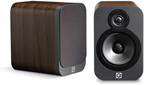 Q Acoustics 3020 Bookshelf Speaker Pair American Walnut