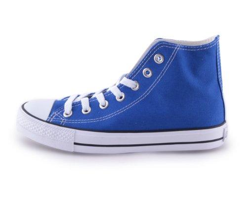 Mixmatch24 - Zapatillas de lona para mujer azul - azul
