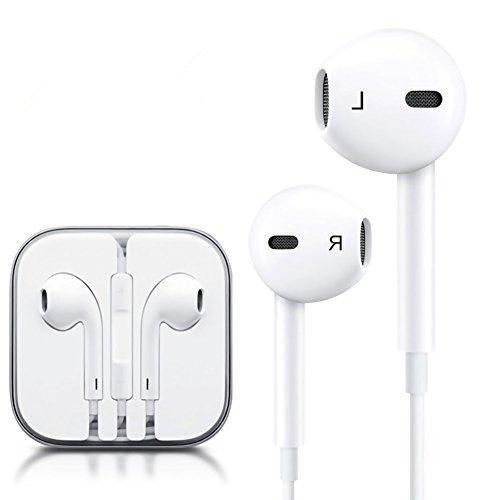 2 Pack Earphones, Headphones Remote Mic 3.5mm Apple Earbuds