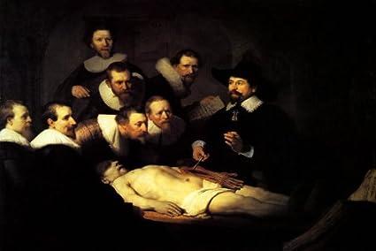 Amazon The Anatomy Lesson Of Dr Nicolaes Tulp 1632 Medicine