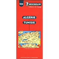 Michelin Algeria -Tunisia Map No. 958