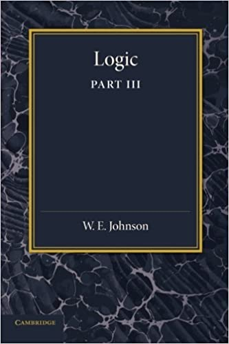 Logic, Part 3, The Logical Foundations of Science