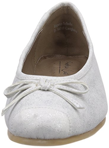 Flats Silber Women's Silber Conti Silver Andrea 0599411017 096 Ballet IYxq65w