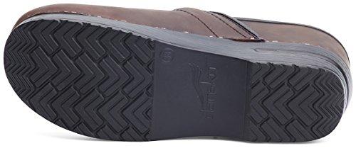 Leather Professional Oiled M Women's Black Cabrio B 5 7 Brown Clog Antique US 6 Dansko EU 37 5aXwxfXq