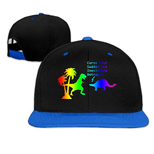 Firefly Curse You Adjustable Plain Baseball Cap Hip-Pop Hat Blue -