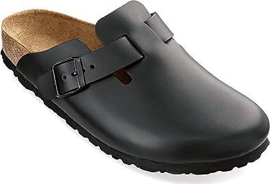 3e0301152a96 Birkenstock Boston Leather Clogs