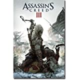 "Assassins Creed III - Gaming Poster (Game Cover) (Size: 24"" x 36"")"