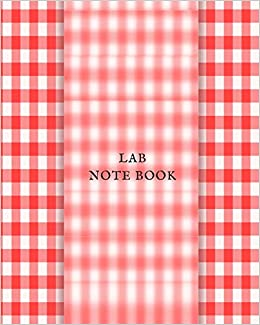 Lab Notebook Lab Journal Notebook For Science Student