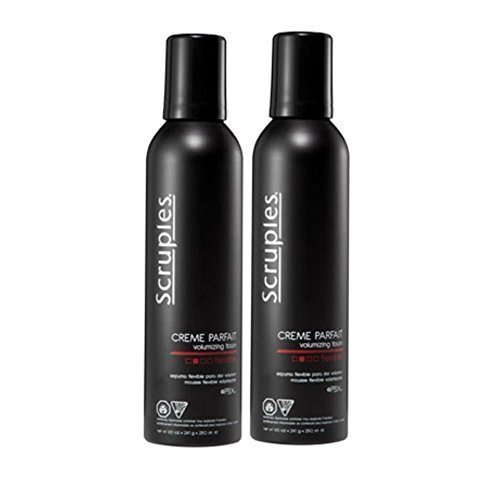 Scruples 250 ml/Net Wt 8.5 oz Creme Parfait Volumizing Styling Foam (Pack of 2)