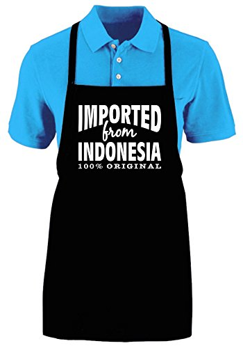 IMPORTED FROM INDONESIA (ORIGINAL) - Funny Apron Adjustable Kitchen Apron by Mighty Ambitious Designs