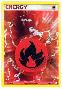 Pokemon - Fire Energy (106) - EX Holon Phantoms - Holo