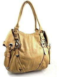 New York Hobo Handbag (Tan)