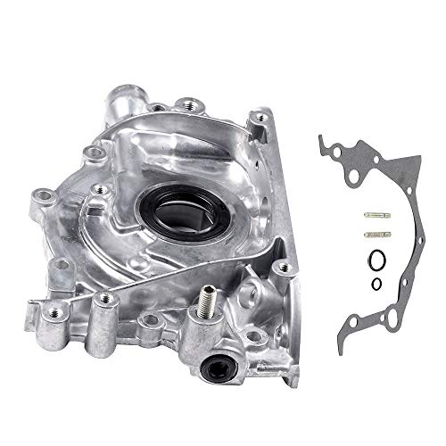 SCITOO Engine Components M238 Oil Pump Fits for 98-01 Chevrolet Metro, 95-97 Geo Metro, 96-97 Geo Tracker, 96-00 Pontiac Firefly, 98-01 Suzuki Esteem, 96-98 Suzuki Sidekick