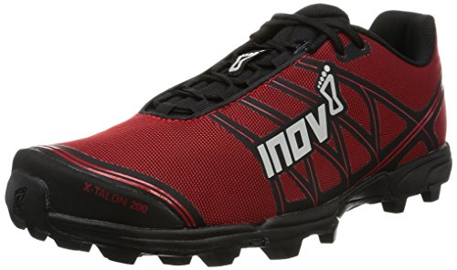 Inov-8 X-Talon 200 Trail Runner, Red/Black,12 US Women's/ 10.5 US Men's