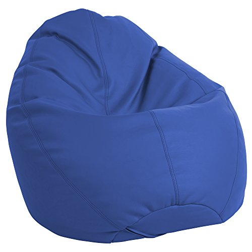 (ECR4Kids Dew Drop Bean Bag Chair, Blue)