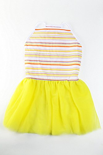 Image of Midlee Colorful Stripe Tutu Large Dog Dress by (XX-Large)
