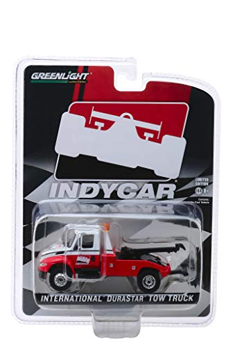 International Durastar Tow Truck White and Red IndyCar Series Hobby Exclusive 1/64 Diecast Model by Greenlight 30032 ()