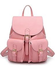 Leather Backpack, Jonon Women's Leather Backpack , PU Leather Backpack for Women, Soft & Fashion Leather Lovely...