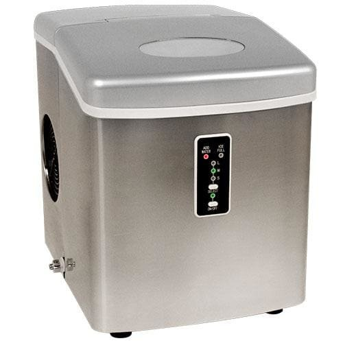 Edgestar IP210SS1 Portable Stainless Silver