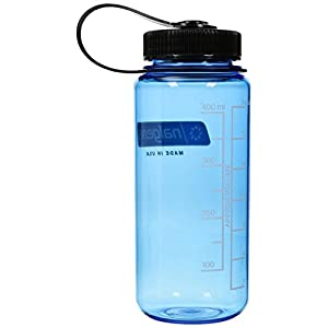 NALGENE Tritan 1-Pint Wide Mouth BPA-Free Water Bottle,Slate Blue,16 oz