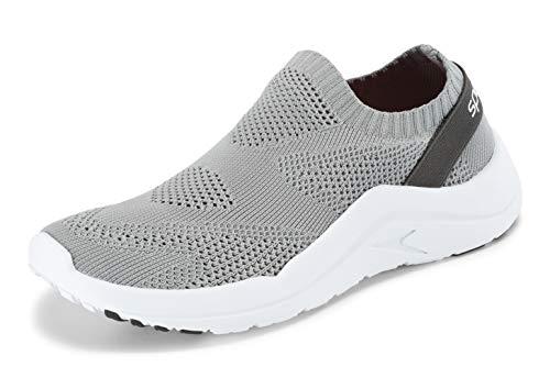 Speedo Women's Surf Knit Ultra Water Shoe, Grey, 6 Regular U