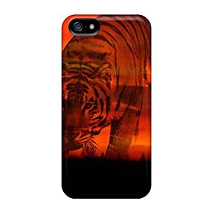 New Arrival SjR36289tjQN Premium Iphone 5/5s Cases(sunsets Tiger)