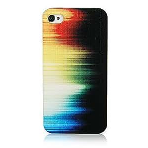 TY-Original modelo colorido Light Frame Transparente de nuevo caso para el iPhone 4/4S