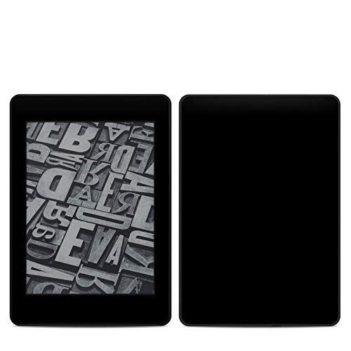 - Solid State Black Amazon Kindle Paperwhite 2018 Full Vinyl Decal - No Goo Wrap, Easy to Apply Durable Pro
