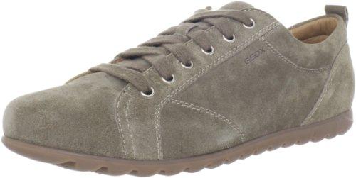 Geox - Zapatos de cordones de cuero para hombre Beige (Beige (C6029))