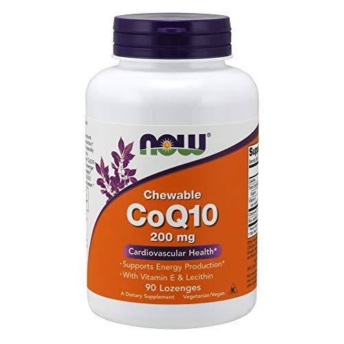 (Now CoQ10 200 mg,90 Lozenges)