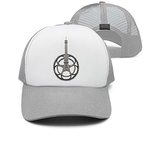 jrw5dfg498p Cap Tower Clockwork Gear Tower Machinery Unisex Grid Cap Cute Stylish Casual Simple Funny Personality Fashion Travel (Octagonal Tower)