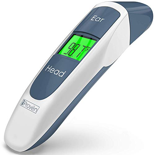 Digital Ear Thermometer For Kids - Baby Thermometer Forehead and Ear - Temporal Digital Thermometer For Fever - Termometro Digital Baby - Temporal Thermometer Adult - Kids Thermometer
