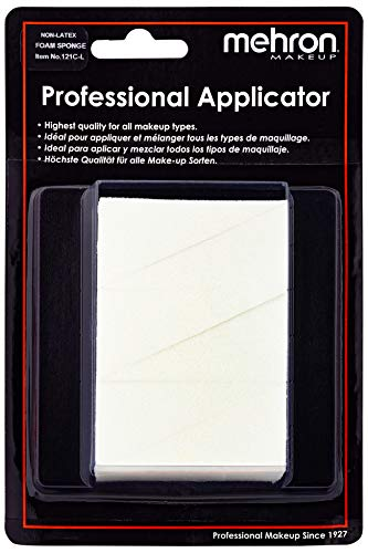 Mehron Makeup Non-Latex Foam Triangular Wedge (6-Pack)