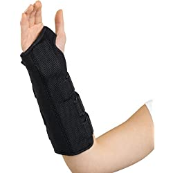 Medline Universal Wrist and Forearm Splint, Right