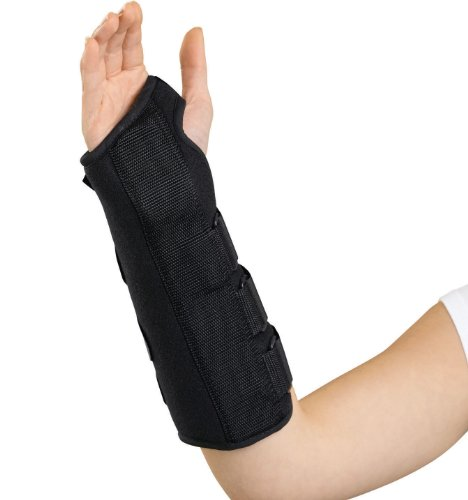 Medline Universal Wrist and Forearm Splint, Right