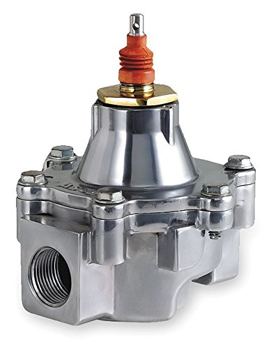 ASCO HV216585-004 Aluminum Body Cable Controlled Fuel Gas Shutoff Valve, 1-1/2'' Pipe Size, 2-Way Normally Closed, Nitrile Butylene Sealing, 1-5/8'' Orifice, 38 Cv Flow