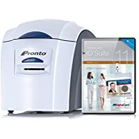 Magicard Pronto Single-Side ID Card Printer with Mag Encoder and AlphaCard ID Suite Basic Software
