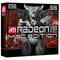 ATI 100-435317 Radeon X800 XT Mac Edition for G5 256MB AGP Video - Radeon Agp Ati