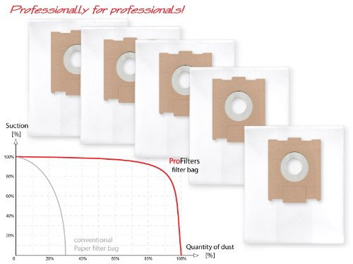 mastic, pl/âtre, etc. 3x Les sacs renforc/és /à 6 couches pour la poussi/ère de construction ,pour aspirateur Festool CTL//CTM 26