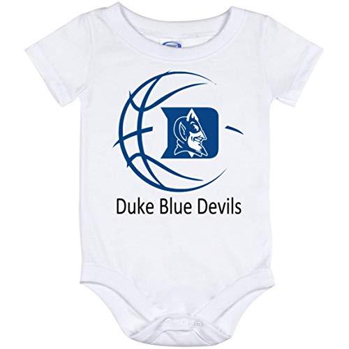 Duke Blue Devils Basketball Baby Bodysuit Toddler Shirt, Baby Bodysuit (12 Months)]()
