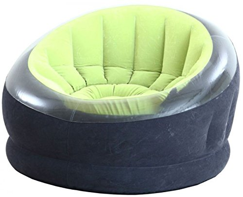 Intex 68581 Sillón Imperio, 112X109X69 cm, I.3, Verde: Amazon.es ...
