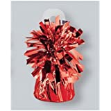 Foil Balloon Weights Red Package of 6