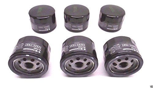 6 Pack Genuine Kawasaki 49065-7007 Oil Filter OEM